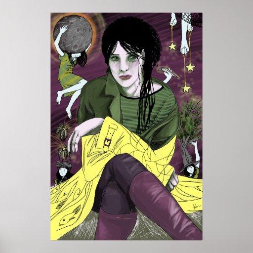 Impresión androgénica póster