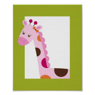 Impresión animal del arte de la pared del cuarto d impresiones