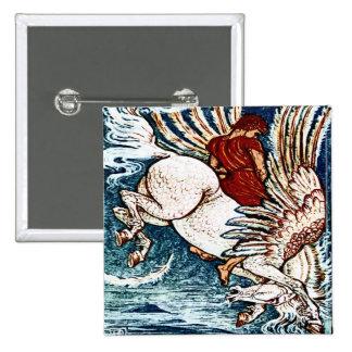 Impresión antigua Bellerophon de la grúa de Gualte Pins