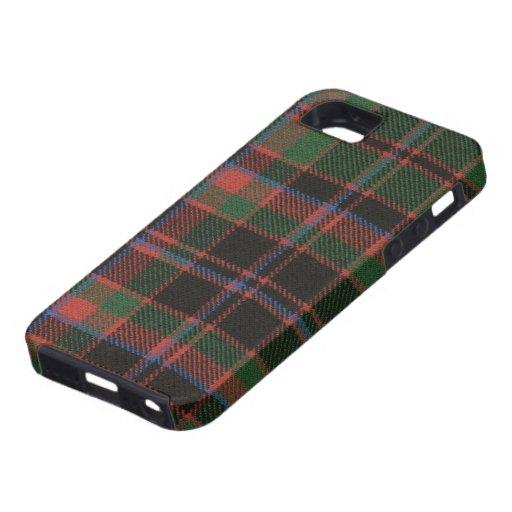 impresión antigua del tartán del clan de Buchan de iPhone 5 Case-Mate Fundas