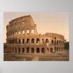 Impresión archival de Colosseum exterior, Roma, It Posters