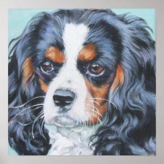 Impresión arrogante del arte del perro de aguas de impresiones