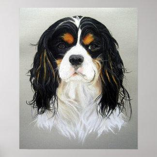 Impresión arrogante del poster del perro del perro