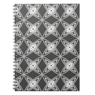 Impresión atómica moderna de los mediados de siglo cuadernos