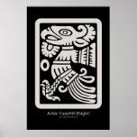 Impresión azteca de Cuauhtli - de Eagle (masilla) Poster
