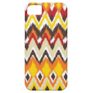 impresión azteca del estilo - brillante - encajone iPhone 5 coberturas