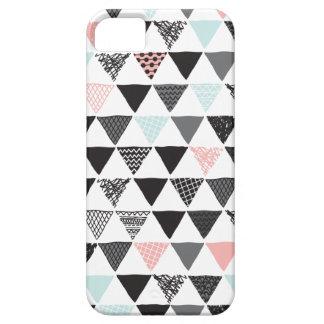 Impresión azteca del triángulo en colores pastel iPhone 5 Case-Mate cobertura