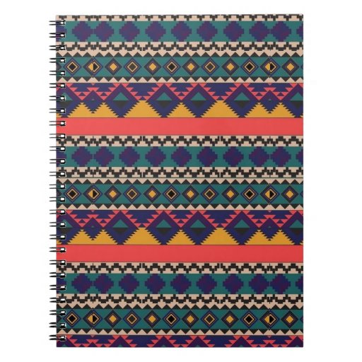 impresión azteca libreta espiral