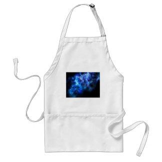 Impresión azul de la galaxia delantal