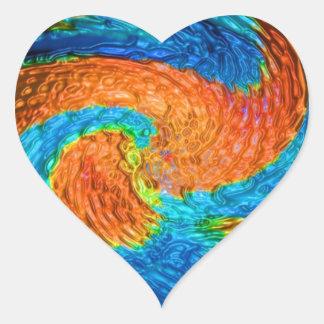impresión azul elegante moderna de las camisetas d colcomanias corazon personalizadas