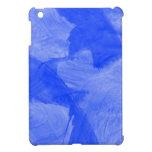 Impresión azul y blanca de la acuarela iPad mini carcasas