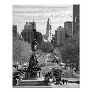 IMPRESIÓN B&B de la FOTO de Philadelphia