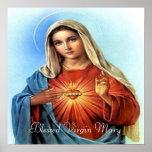 Impresión bendecida de Maria Posters