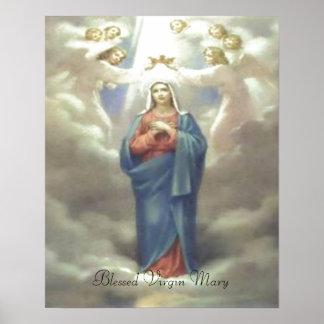 Impresión bendecida del Virgen María