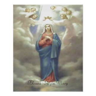 Impresión bendecida del Virgen María Impresiones