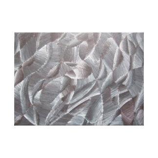 Impresión blanco y negro abstracta de la lona impresiones en lona estiradas