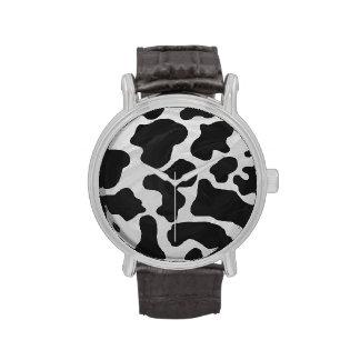 Impresión blanco y negro de la vaca