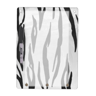 Impresión blanco y negro del tigre pizarras