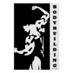 Impresión Bodybuilding Poster