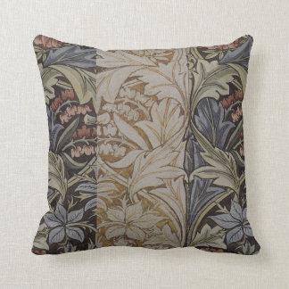 Impresión botánica de la tela del Bluebell de Will Cojines