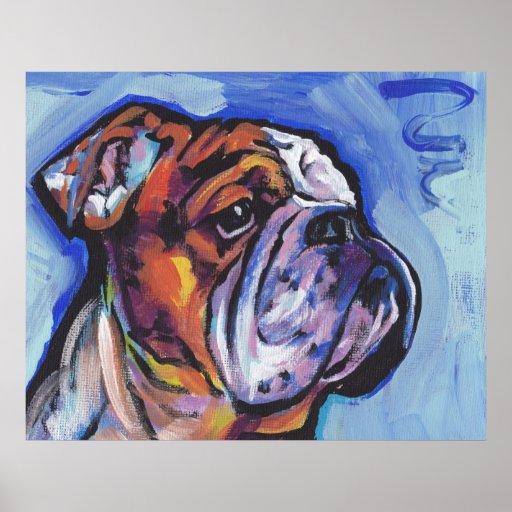 Impresión brillante Posteer del arte pop del dogo Póster