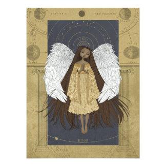 Impresión celestial de la foto del ángel