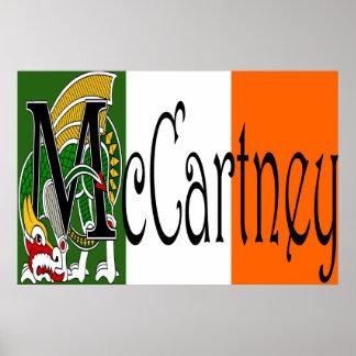 Impresión céltica del dragón de McCartney Posters