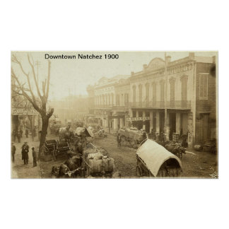 Impresión céntrica de Natchez Poster