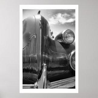 Impresión clásica del poster del coche 126