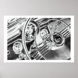 Impresión clásica del poster del coche 144