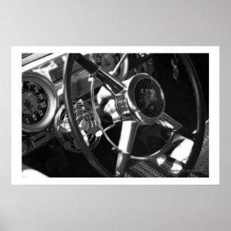 Impresión clásica del poster del coche 158