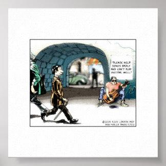 """Impresión cobrable del """"mún dibujo animado diverti posters"""