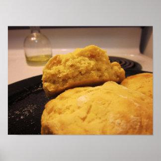 Impresión cocida de las galletas (opción de w/Fram Póster