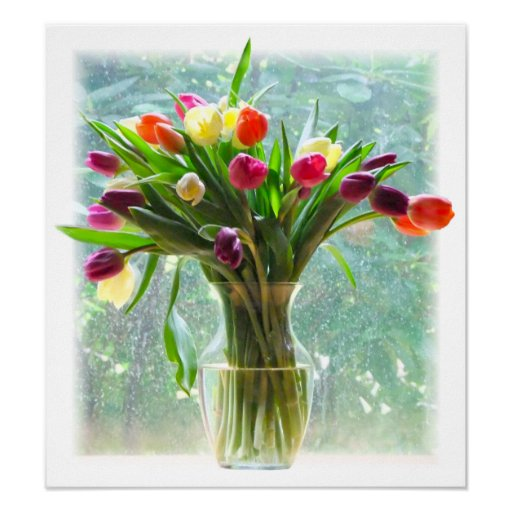 Impresión colorida de la foto del arte de los tuli posters