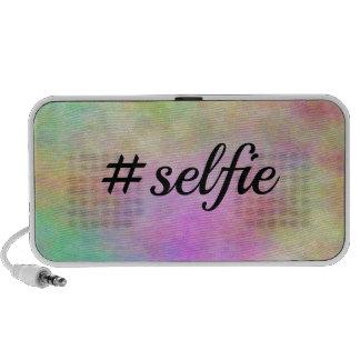impresión colorida del #selfie mini altavoces