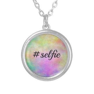 impresión colorida del #selfie colgantes