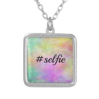 impresión colorida del #selfie grimpolas personalizadas