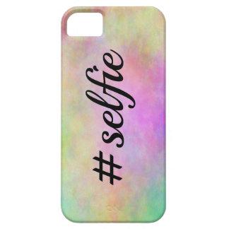 impresión colorida del #selfie iPhone 5 funda