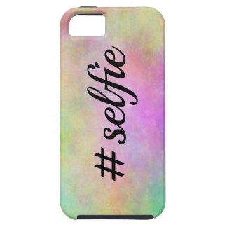 impresión colorida del #selfie iPhone 5 cárcasas
