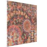 Impresión colorida tallada de la lona de las impresión de lienzo