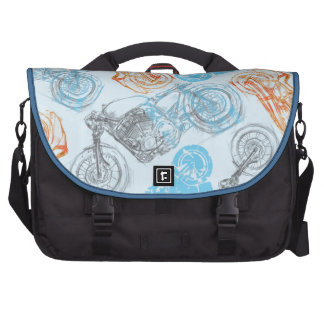 impresión con las bicis bolsas para portatil