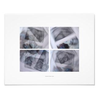 Impresión conceptual de la fotografía de las fotografía