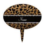 Impresión conocida de encargo del guepardo del bri figura para tarta