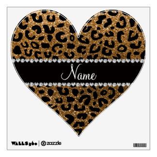 Impresión conocida de encargo del guepardo del vinilo
