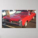 Impresión convertible 1966 de Pontiac GTO Poster