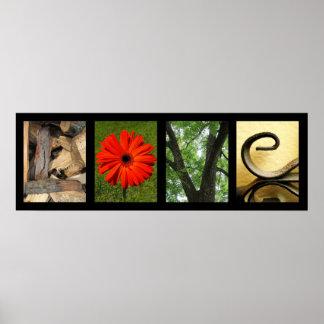Impresión creativa del arte de la fotografía del a impresiones