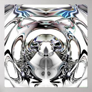 Impresión cristalina 2c posters