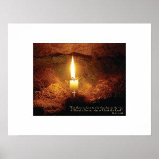 """""""Impresión cristiana del arte de la vela de Cristo Impresiones"""