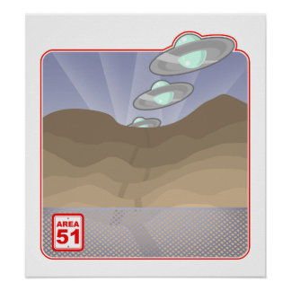 Impresión de 51 desiertos póster