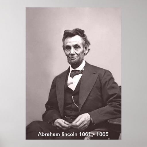 Impresión de Abraham Lincoln Poster